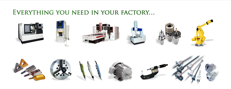Everything you need in your factory…